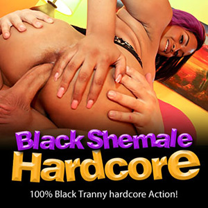 Black shemale hardcore